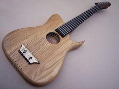 Light Blade, traveller guitar - HandMade Guitars