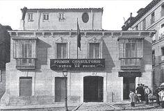1903. Consultorio de la Gota de Leche en la calle de San Bernardo. Fotografía publicada el 8 de diciembre de 1903 en La Ilustración Española y Americana.