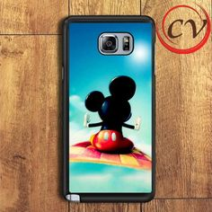 Micky Mouse Fly In Sky Samsung Galaxy Note 6 Case