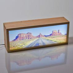 kitkasa-Caja de luz panorámica con tu foto