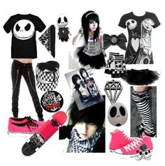 Scene/ Emo outfit