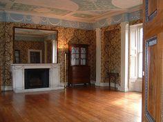 Pitzhanger Manor - John Soane Classical Elements, Elements Of Design, Interior Garden, Interior And Exterior, English Architecture, Georgian Furniture, Regency Era, Classic Interior, Moldings