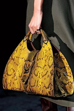 sofiazchoice:  Sofiaz Choice: Gucci winter 2012 - python bag