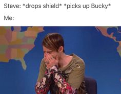 Read from the story Stucky Images Marvel Dc, Marvel Memes, Marvel Comics, Johnlock, Destiel, Captain America And Bucky, Bucky And Steve, Dc Movies, Films
