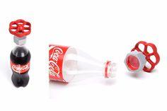 Plastic cork for plastic bottles