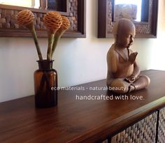 Elegant coconut shell furniture collections by Dsign. Handcrafted with love.