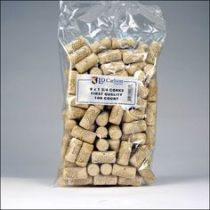 8 x 1 3/4 First Quality Straight Wine Corks 100 ct - First Quality Corks are our most economical cork line. First Quality Corks are are agglomerated, meaning th