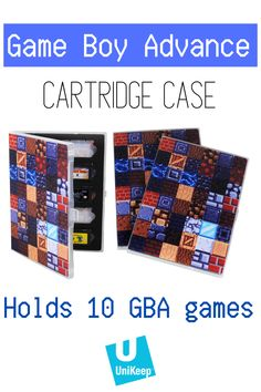Looking for a way to keep Pokemon Emerald, Metroid Fusion and Mario Kart: Super Circuit in a safe and secure place? The UniKeep Game Boy Advance Game Cartridge Case is perfect for storing and organizing your GBA game collection. Video Game Organization, Video Game Storage, Pokemon Emerald, Video Game Collection, Metroid, Game Boy, Mario Kart, Protective Cases, Snug