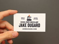 Bidnuz Cards by Jake Dugard