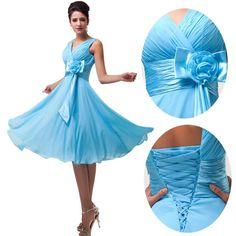 62ddcd0d8f2b Sexy Kurz Brautjungfernkleid Cocktailkleid Ballkleid Partykleid Abendkleid  Kleid de.picclick.com Braut, Abschlussball