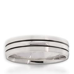 Men's ArtCarved Ring 14K White Gold $999 #Holiday #Gift #Idea