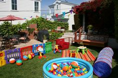 Baby playground, would be the perfect thing for a 1st birthday.