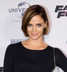 24 Hottest Bob Haircuts for Every Hair Type: Lauren Brandt's Balayage Bob