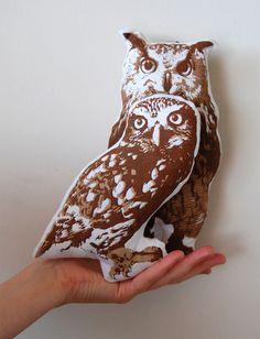 Owl softie Pillow #owl #soft #pillow #cushion