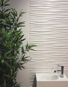 Texture: It's simply not enough to have a resilient and functional tiled wall these days and the many textured feature tiles that are now available in a number of ranges from Waxman prove this. Adding further depth with a subtle wave, engraved into a tile can really d that 'Wow' factor to most wall applications.http://www.waxmanceramics.co.uk/blog/news/the-top-tile-trends-for-2015/