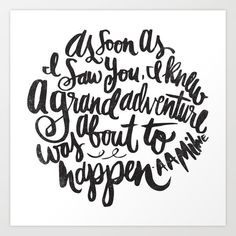 grand adventure by Matthew Taylor Wilson motivationmonday print inspirational black white poster motivational quote inspiring gratitude word art bedroom beauty happiness success motivate inspire Typography Quotes, Typography Prints, Typography Poster, Lettering, Inspirational Posters, Motivational Quotes, Watercolor Typography, Coco Chanel Quotes, Classy Quotes