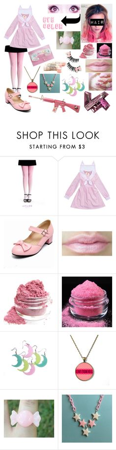 """""""Kawaii Innocent (Creepypasta OC)"""" by cupcake125 ❤ liked on Polyvore featuring Murphy, Hello Kitty, women's clothing, women's fashion, women, female, woman, misses and juniors"""