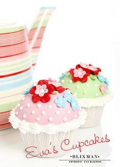 Cupcakes. Mesa de Doces