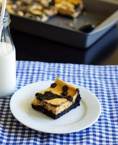 Pumpkin Cheesecake Brownies via @bridget