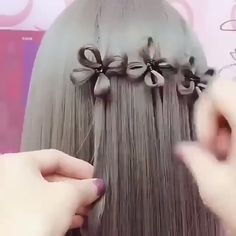 The post Beautiful Hair DIY! Tutorial appeared first on diy. Pretty Hairstyles, Braided Hairstyles, Crazy Hair, Layered Hair, Hair Videos, Hairstyles Videos, Hair Hacks, Dyed Hair, Hair And Nails