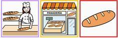 Vocabulario en imágenes. Maestra de Infantil y Primaria.: Tiendas-Vendedor-Objeto