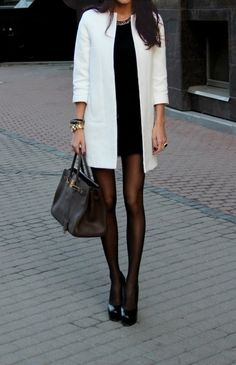 Love the look, especially that coat! Want.