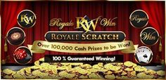 ☆ROYALE SCRATCH☆ 100% Guaranteed Winning! Claimed Your Royale Scratch Sure-Win Prizes This Week?  七天内存款总额达 RM250 即可赢取必胜刮奖!保证中奖! Next Deposit Calculation Week: 2/9-8/9! Deposit min total RM250/week & WIN for Sure!  www.royalewins.com