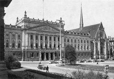 Leipzig Universität um 1900 in dem Gebäude hätte ich gerne studiert...