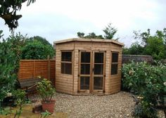 Corner Sheds and Summerhouses available from Sheds Direct Devon Limited Pool Shed, Backyard Sheds, Garden Sheds, Small Outdoor Shed, Outdoor Sheds, Corner Summer House, Summer Houses, Corner Sheds, Firewood Shed