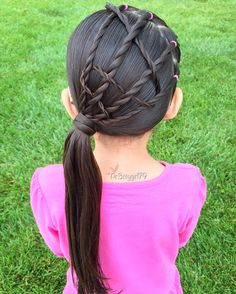 """✨""""Let no one discourage your ambitious attitude. You don't need a fan club to achieve your goals. Be your own motivation. Rope braid accents into a side pony Cute Girls Hairstyles, Braided Hairstyles, Side Pony, Mothers Day Weekend, Rope Braid, Toddler Hair, Captain America, Hair Inspiration, Hair Makeup"""