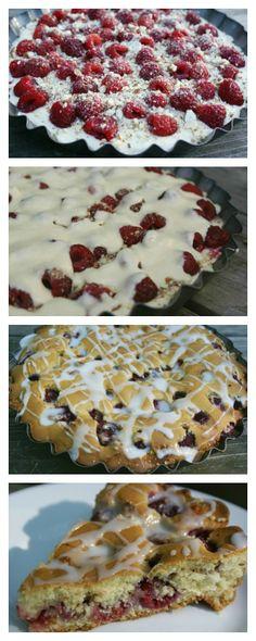 Raspberry Coffee Cake | 5DollarDinners.com