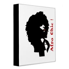 Shop Afro chic natural hair illustration binder created by MNAArt. Hair Illustration, Custom Binders, Red Lipsticks, Afro, Natural Hair Styles, Chic, Nature, Shabby Chic, Elegant