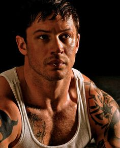 Tom Hardy - inspiration for the character of Sam Gannon (Raina's bodyguard)