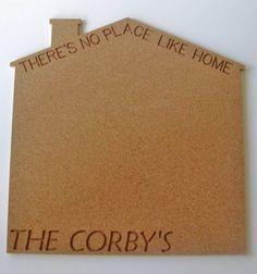 Personalized Cork Board For The Home Www Uniquecork