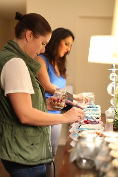 """DIY trail mix bar. More entertaining ideas and healthy recipes with Arielle Haspel of bewellwitharielle.com and Host of Glamour.com's cooking series """"Treat Yourself"""" @glamourmag"""
