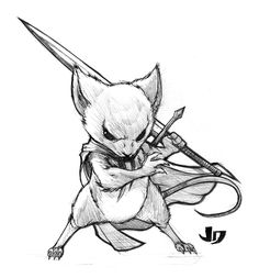 That is one bad@$$ mouse. I'd love to see him kick Mickey's @$$ any day of the week. xP jk Mouse Guard © David Petersen