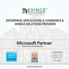Evince Development is Leading a Web and Mobile App Development Services Company Offers Ecommerce Open Source, Microsoft Software, Web Design, SaaS, Mobile App Development Services. We are delivering projects with a value and with an assurance that it will be work fantastically. http://www.evincedev.com #software #design #webdevelopment #websitedesign #websitedeveloper