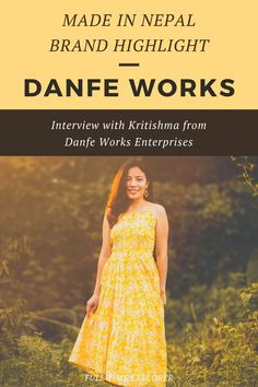 Made in Nepal Brand Highlight: Danfe Works - Check out this interview with Kritishma about how Danfe Works was created and how they make their items sustainably within Nepal | Full Time Explorer | Sustainable Design | Shopping in Nepal | Sustainable Fashion | Sustainable Clothing | Eco Friendly Accessories | Upcycled | Sustainable Brands in Nepal | Locally Made | Sustainable Design