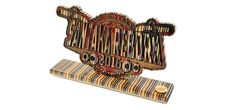 Santaka Reborn Trophy out of Recycled Skateboards