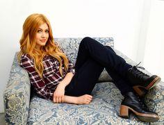 Katherine McNamara Wallflower Jeans Photoshoots 2016