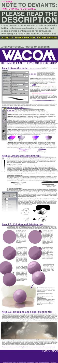 Wacom Starter Tablet Tips 2004