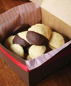 Rich, soft Ricotta cookies.