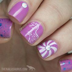 Cute nails @ thesammersaurus
