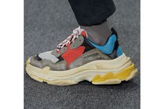 Here's what we know so far about the Triple-S sneakers unveiled by Balenciaga at Paris Fashion Week. Read on for all the details.