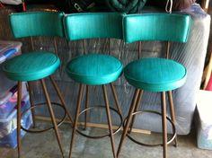 1968 Vintage Barstools   Originals