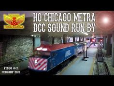 Chicago Metra HO DCC Sound Run by Kato, Model Trains, Homeland, Chicago, Running, World, Youtube, Keep Running, Why I Run