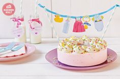 torte-party-deko-baby-party-torten-girlande
