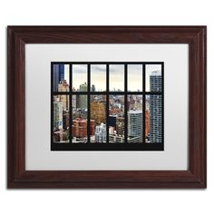 Philippe Hugonnard 'nyc Penthouse' Matted Framed Art