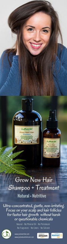 Encourage Scalp To Grow New Hair to Grow Your Hair Faster. This rich 100 % natural formula sustains follicles for continued renewal and growth of healthy hair. Nutrient rich extracts and essential fatty acids help to stimulate hair follicles. This formula helps your follicles remain healthy by stimulating them with nutrient rich natural and organic ingredients which support follicles for continued renewal and growth.