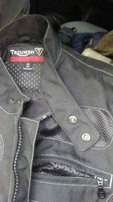 d2adbdc04f929 Used Triumph motor cycle jacket for sale in Philadelphia - letgo